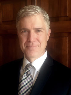 Photo: Judge Neil Gorsuch (Public Domain)